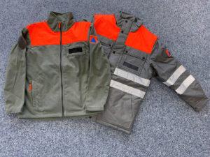 Zivilschutz Jacken texspo