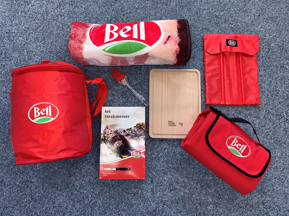 Bell Giveaways texspo