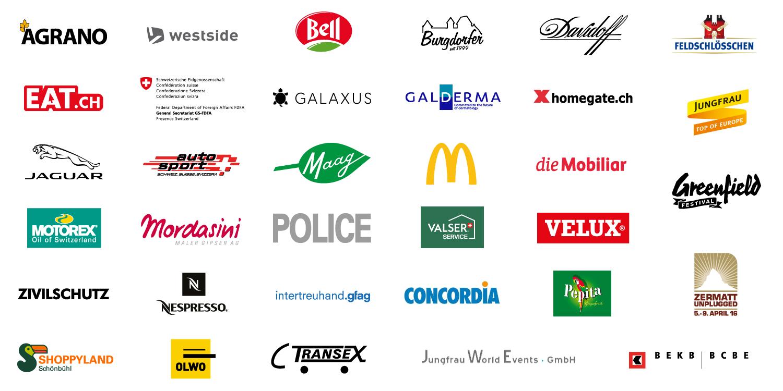 texspo Referenzen Logos