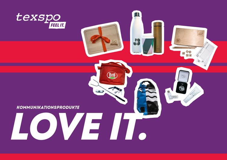 texspo LOVE IT - Kommunikationsprodukte - mobile