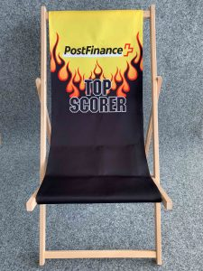 Postfinance Topscorer Liegestuhl